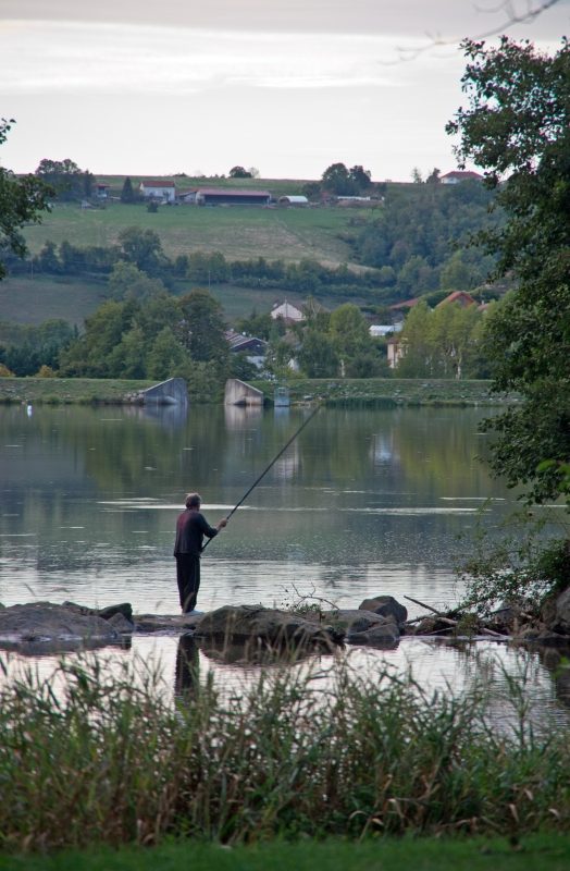 Fisherman at Roybon